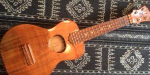 小さくて可愛い楽器ウクレレ