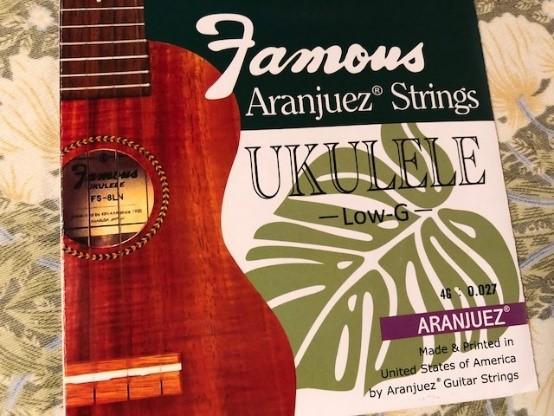 ウクレレの弦交換時期や弦の種類や順番・太さ・張り方などチェック!