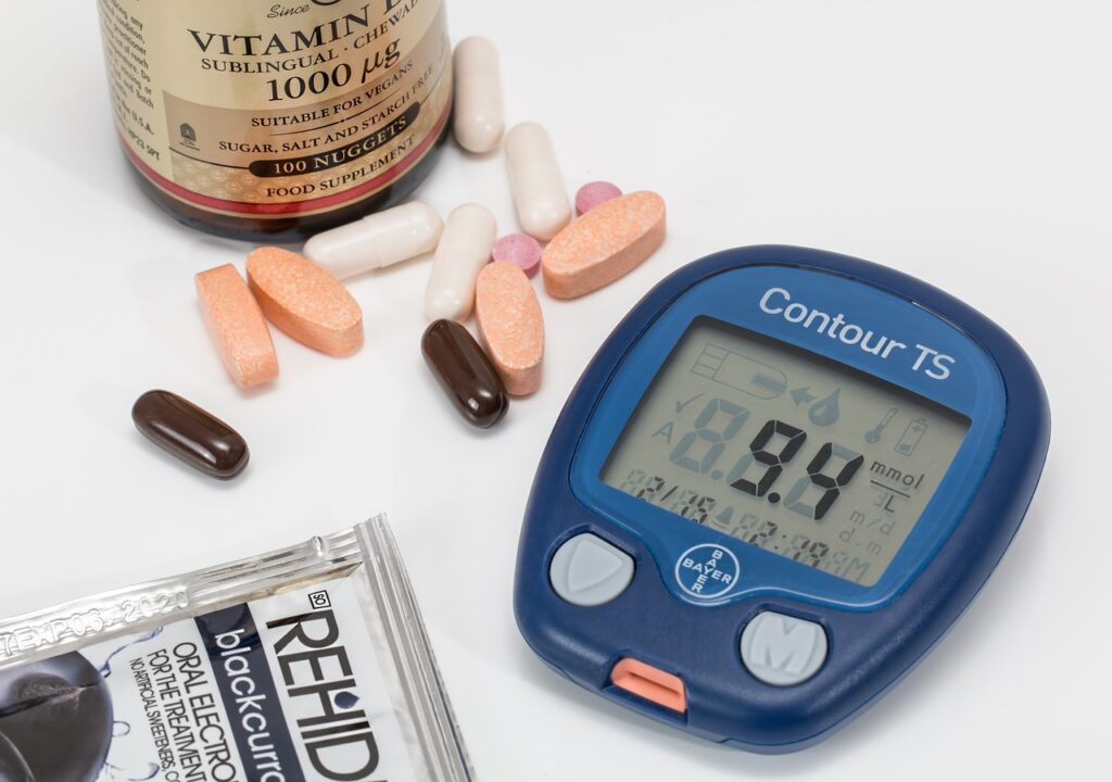 血糖値を下げるためにいり大豆を食べ運動してダイエットもできちゃう